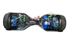 智能电动扭扭车印制电路板抄板设计成功